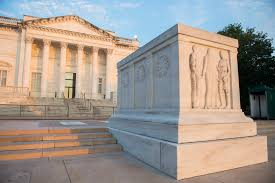 The Tomb of the Unknown Soldier is the most visited site at Arlington in America.