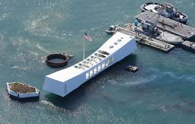The USS Arizona Memorial, located at Pearl Harbor in Honolulu, Hawaii is the resting place of over 1 thousand sailors killed during the attack on Pearl Harbor on December 7, 1941