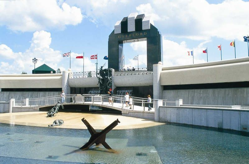 The National D-Day Memorial located in Bedford, Virginia is known for its role of a war memorial for US D-Day veterans