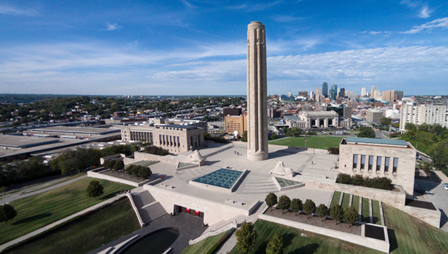 The Liberty Memorial situated in Kansas City, Missouri is a museum built in 1926 to honor those who gave their lives during the World War I.